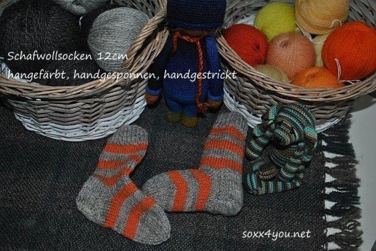 Makerist - schafwollsocken - Strickprojekte - 1