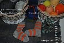 Makerist - schafwollsocken - 1