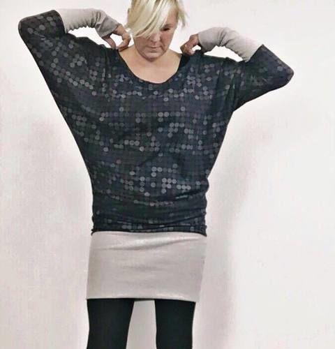 Makerist - Ein Fledermauskleid für mich - Nähprojekte - 1