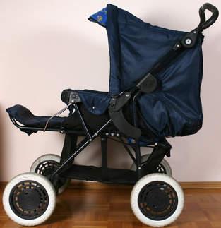 Kinderwagenbezug für einen Teutonia Scout