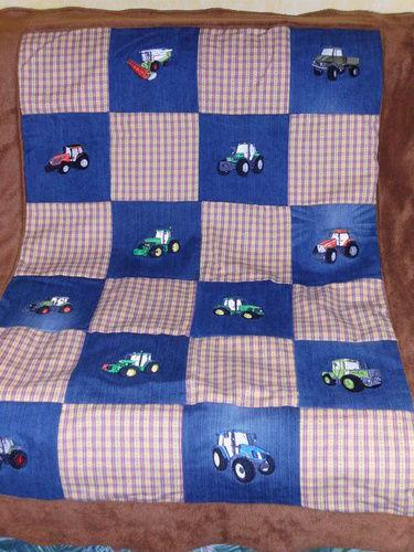 Makerist - Patchworkdecke - Textilgestaltung - 1