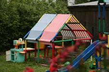 Makerist - Dach für unseren Gartenspielplatz - 1