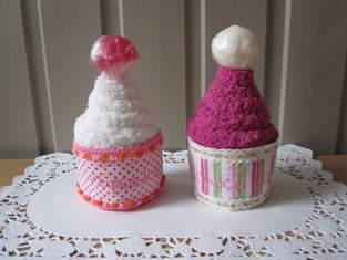 Cup cake -socks