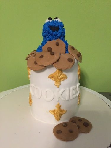 Makerist - Krümelmonster in Keksdose - Torten, Cake Pops und Cupcakes - 1