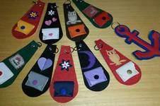 Makerist - Schlüsselanhänger mit und ohne Minibörse  - 1